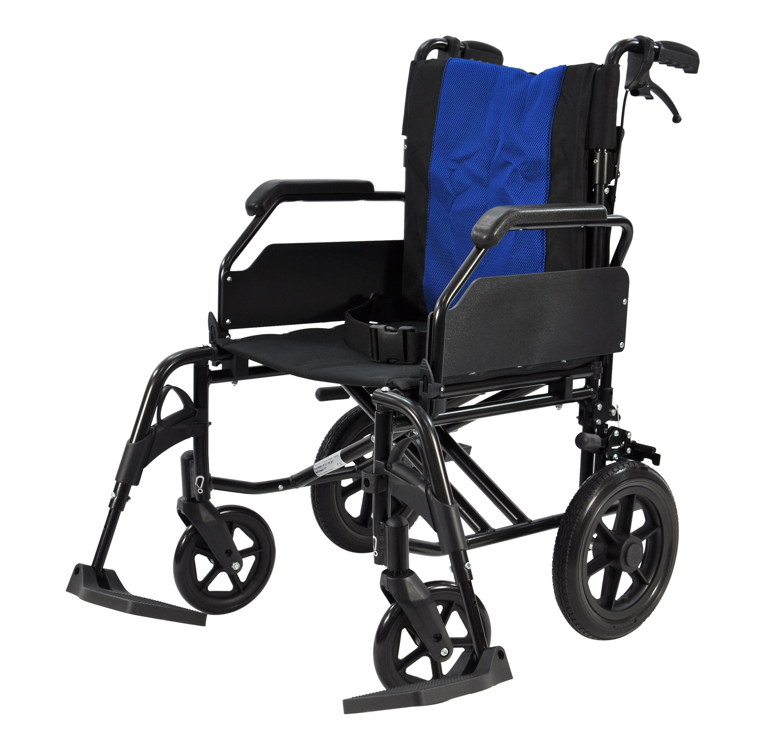 Greencare Easy 1 Attendant Quot Black Edition Quot Wheelchair 18