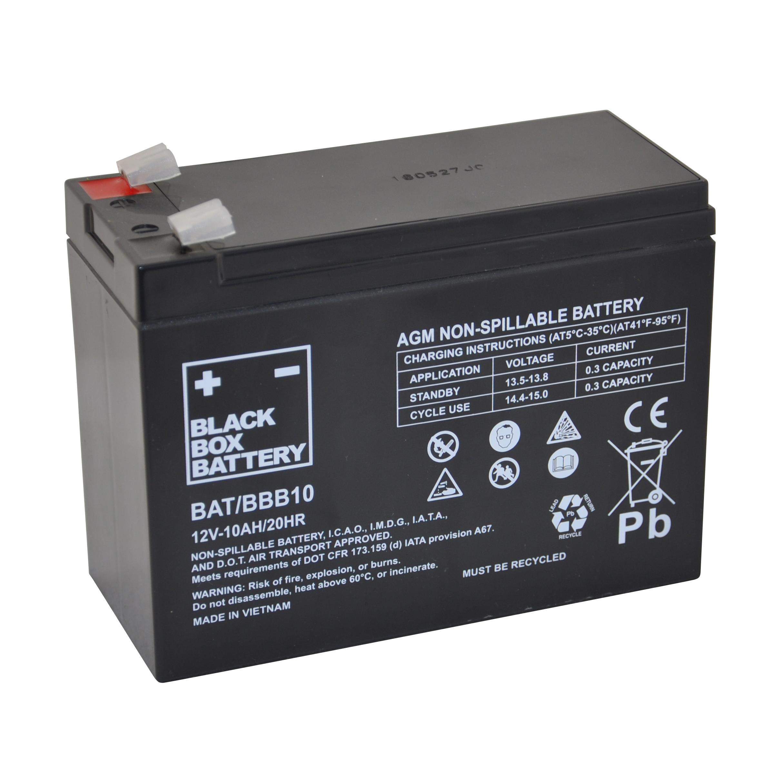 10ah black box agm battery flexel mobility. Black Bedroom Furniture Sets. Home Design Ideas