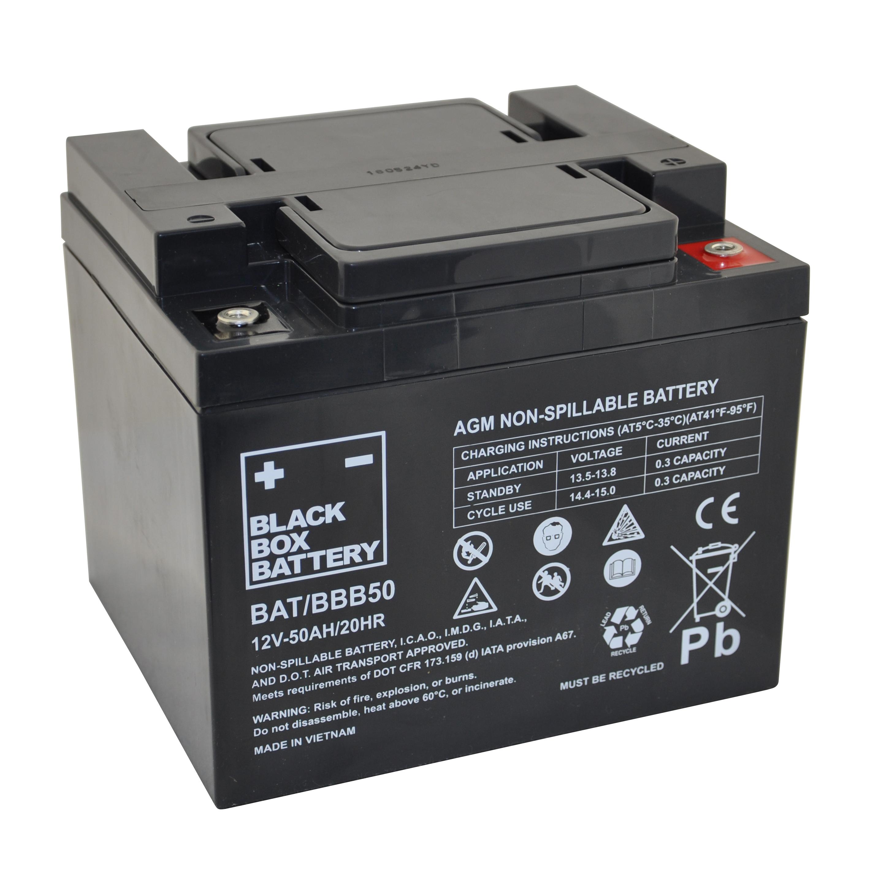 50ah black box agm battery flexel mobility. Black Bedroom Furniture Sets. Home Design Ideas