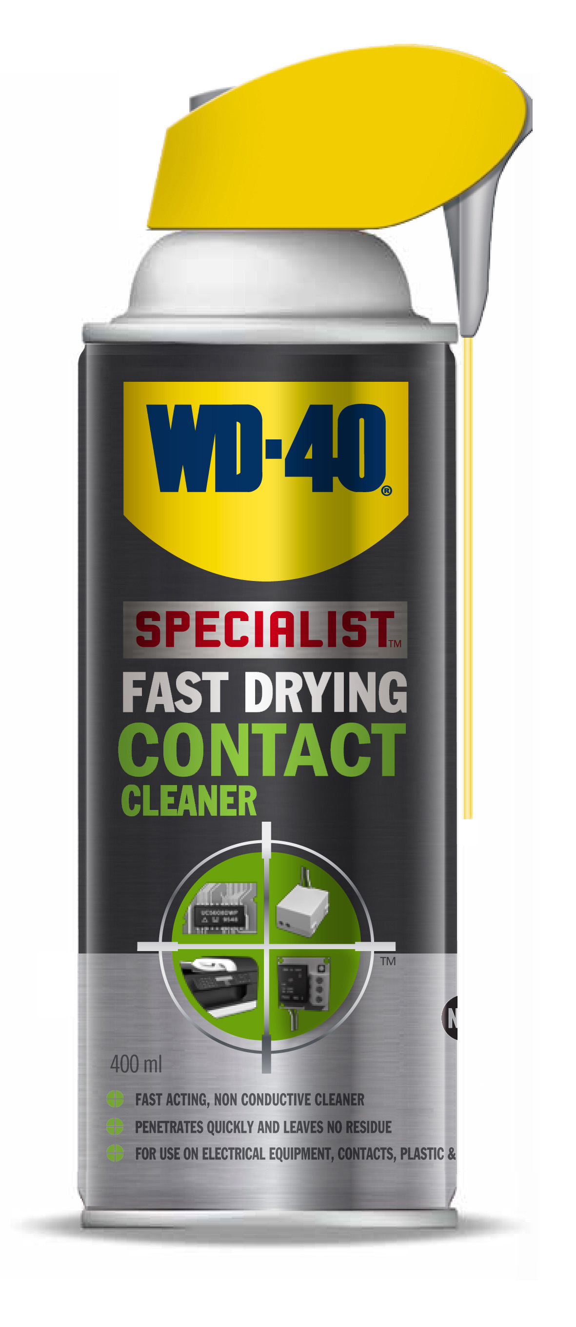 WD40 Contact Cleaner (400Ml)