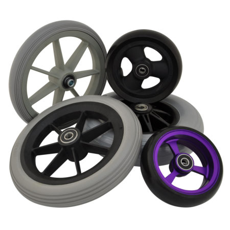 Wheelchair Castor Wheels