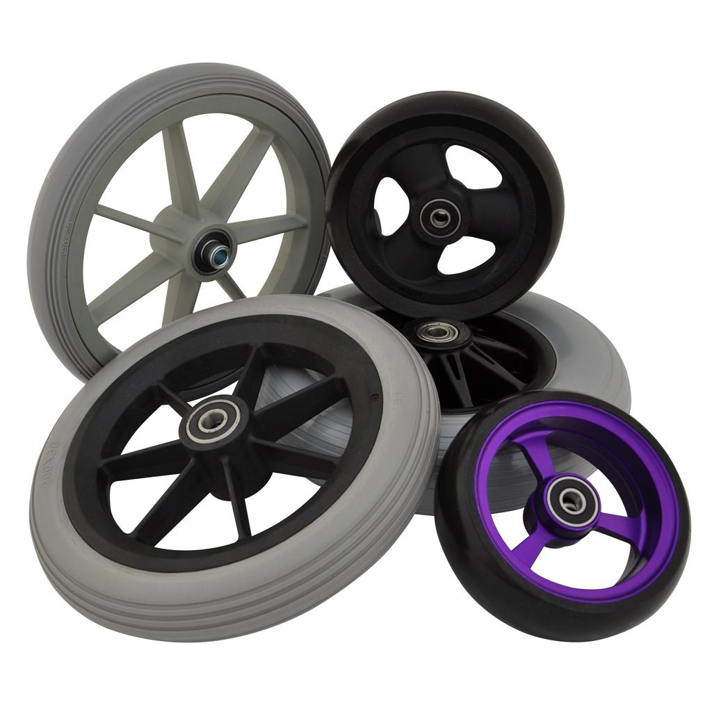 Wheelchair Castor Wheels